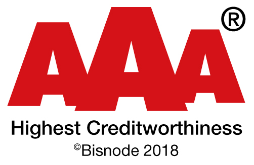 AAA Highest creditworthiness 2018